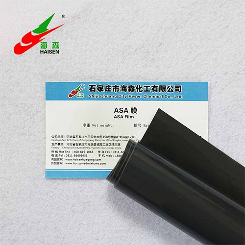ASA Film (Acrylonitrile Styrene Acrylate film) for ASA coated steel coils