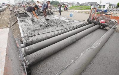 Preventive measures for peeling of concrete pavement